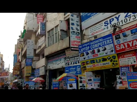 SP Road & Avenue Road in Bangalore | Hub Of All Electronic Items | Cheap place for Electronic Items