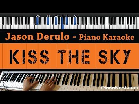 Jason Derulo - Kiss The Sky - Piano Karaoke / Sing Along / Cover with Lyrics