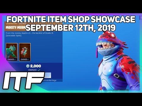 Fortnite Item Shop *NEW* SWAMP STALKER And MOISTY MERMAN RETURNS!  [September 12th, 2019]