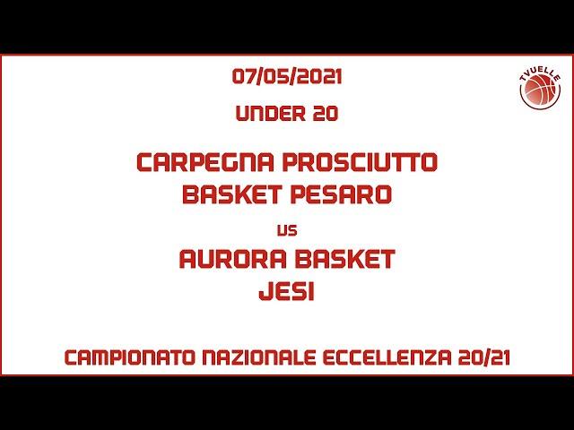 [u20] Carpegna Prosciutto Basket Pesaro - Aurora Basket Jesi: 75-70