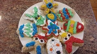 Rice Krispy Treats Easter Bunny Cutouts Cooking Italian With Joe