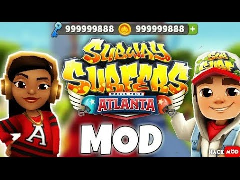 DOWNLOAD SUBWAY SURFERS MODED APK FOR FREE ON ANDROID