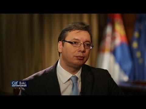 Serbia's PM Aleksandar Vucic: EU membership remains priority