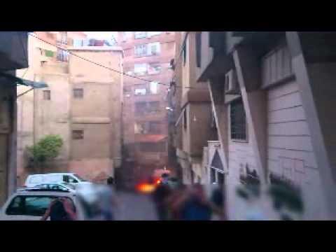 ركن الدين مظاهرة في ساحة شمدين مع قطع للطرقات 7 6 2012