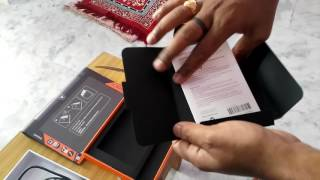 "unboxing of Lenovo Yoga Tab 3(2 GB RAM, 16 GB , 8"" Screen, Wifi+4G, 360 Degree 8 MP Camera)"
