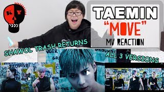 figcaption 【KY】REACTING TO TAEMIN'S MOVE MVs @ 5AM IN THE MORNING :))))