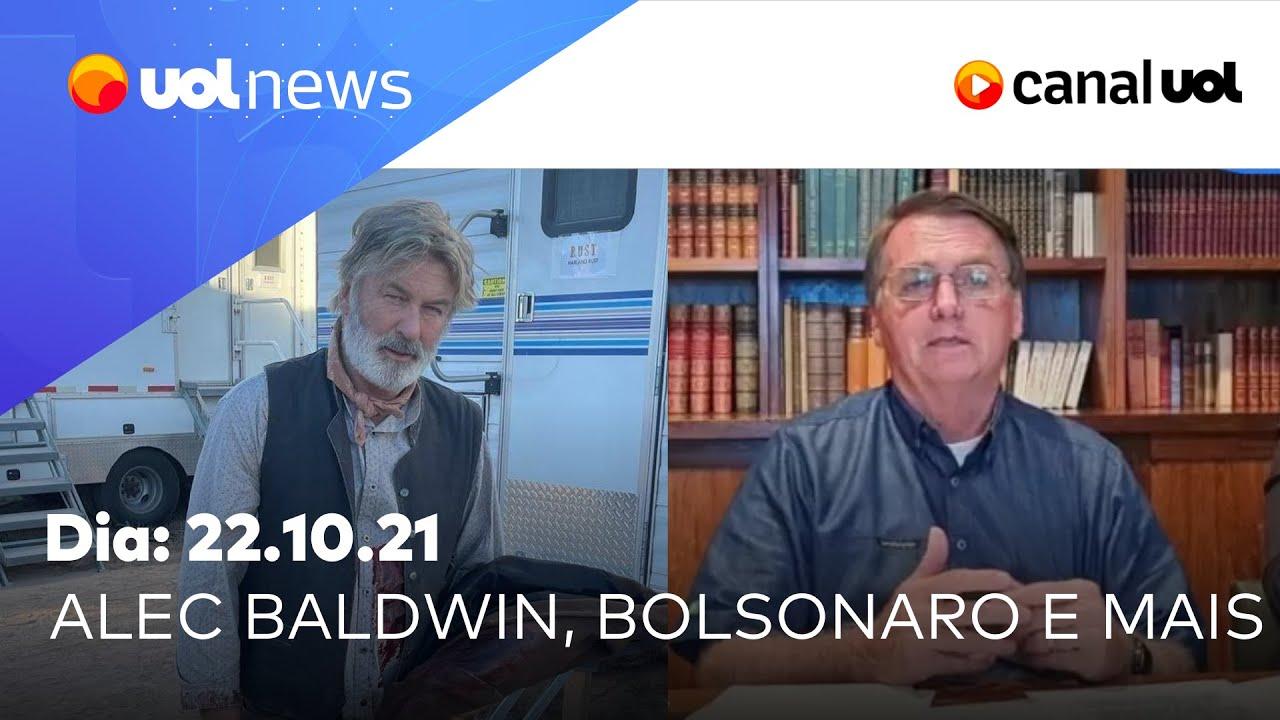 Download Live do Bolsonaro, caso Alec Baldwin, caminhoneiros, Auxílio Brasil e mais notícias | UOL News