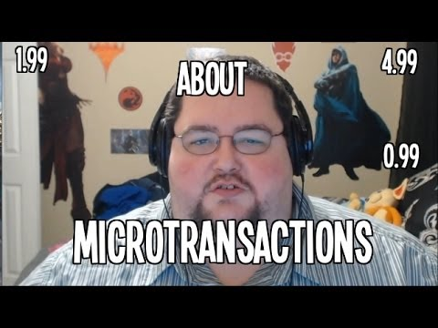 On Microtransactions and In App Purchases