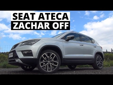 Czy Seat Ateca to tylko tańszy Tiguan? - Zachar OFF
