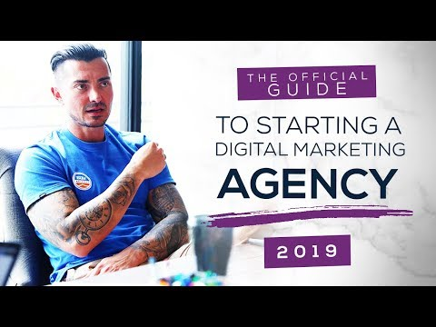 The OFFICIAL Guide to Starting a Digital Marketing Agency (Easy Online Jobs 2019)