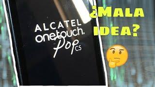 Alcatel One touch Pop C5 - Análisis en 2019