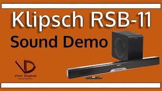 Klipsch RSB-11 Barra de Sonido [Sound Demo]