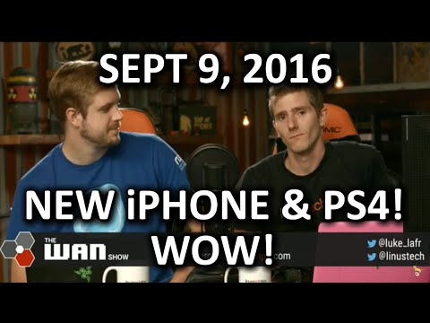 The WAN Show - New iPhone with SEVEN Headphone Jacks - September 9th 2016