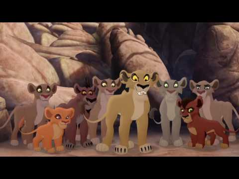 Lion Guard: Lions of the Outlands Ending - Kion VS Zira & th
