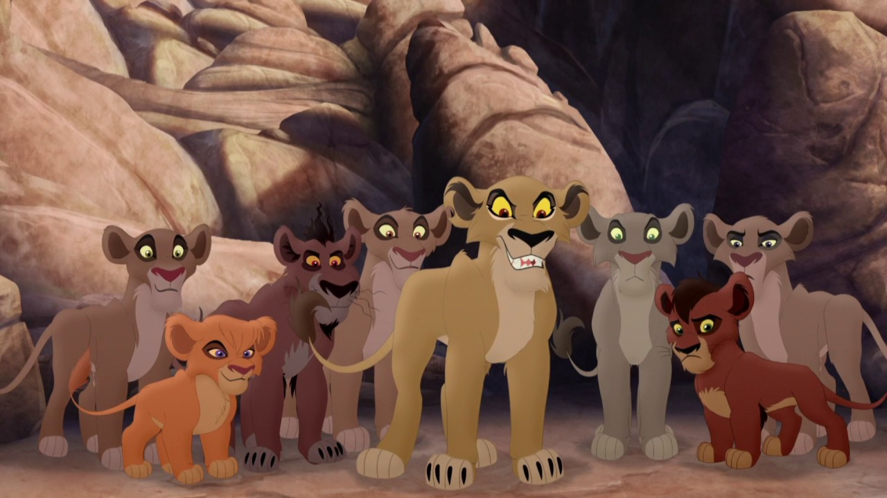 lion guard  lions of the outlands ending