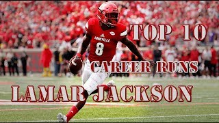 Top 10: Career Runs of Lamar Jackson