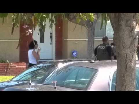 U.S. Marshals in South Gate Attack Cop Watcher. Destroys her cellphone