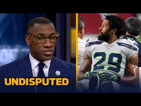 Shannon Sharpe has a problem with Earl Thomas flipping off the sideline | NFL | UNDISPUTED