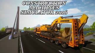 Construction Machines Simulator 2016 Lets Play (Episode 20) - Building A Bridge!