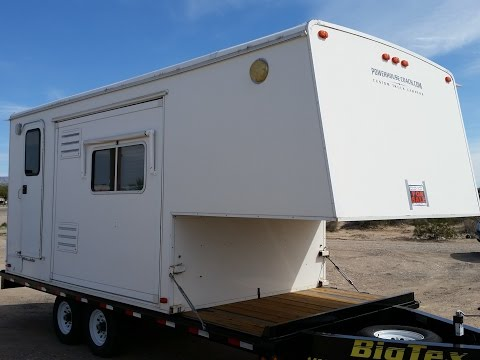 Repeat Fleetwood Caribou Pickup Camper mounted on a 40