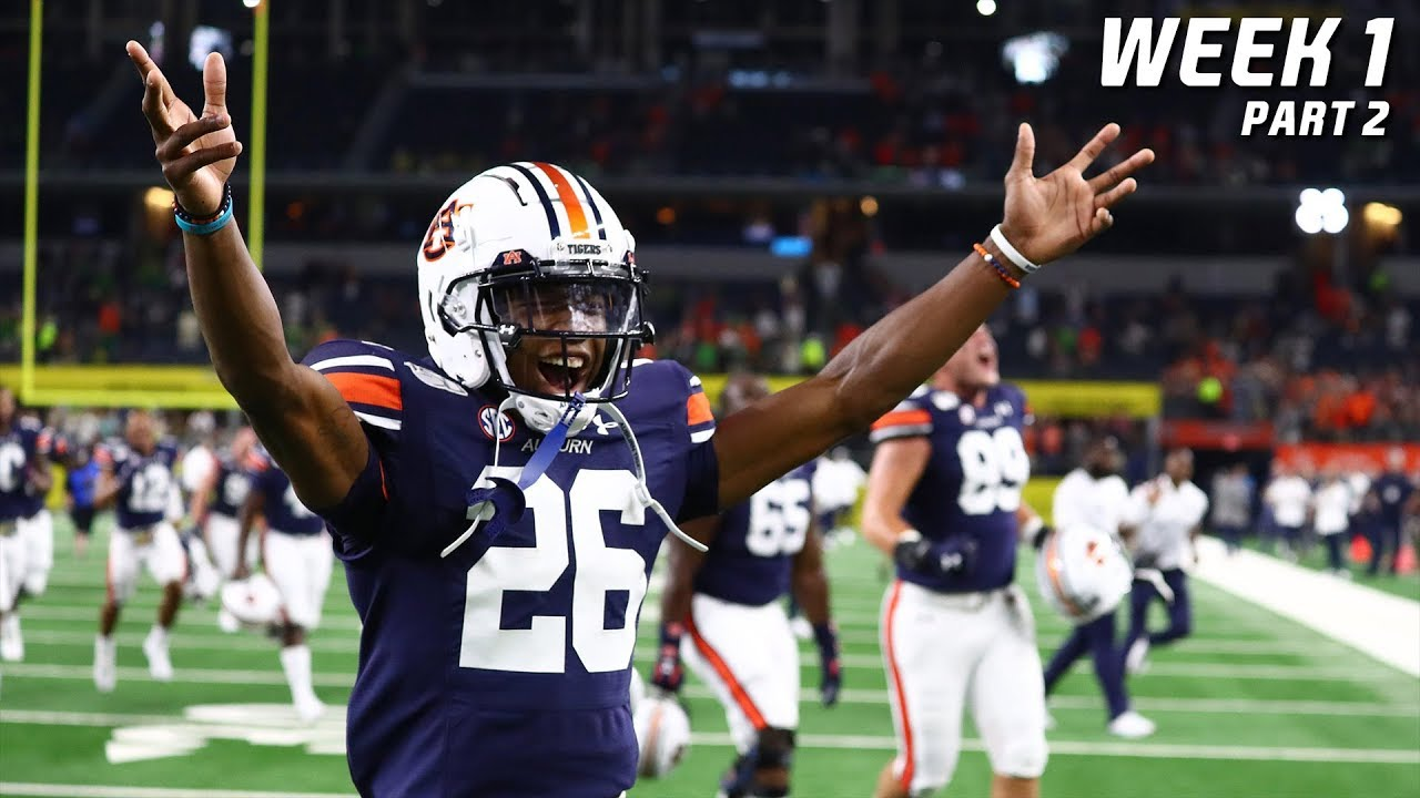 College Football Highlights 2019-20 - Week 1 (Part 2) ᴴᴰ