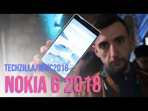 Nokia 6 2018 è decisamente MEGLIO dello scorso anno ! - MWC 2018