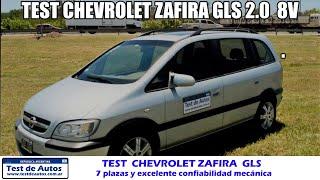Test Chevrolet Zafira GLS Argentina.  Chevrolet Zafira usada.  Análisis Chevrolet...