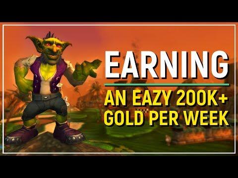 WoW Legion Patch 7.2: How I Make 100k Extra Per L110 Character Per Week