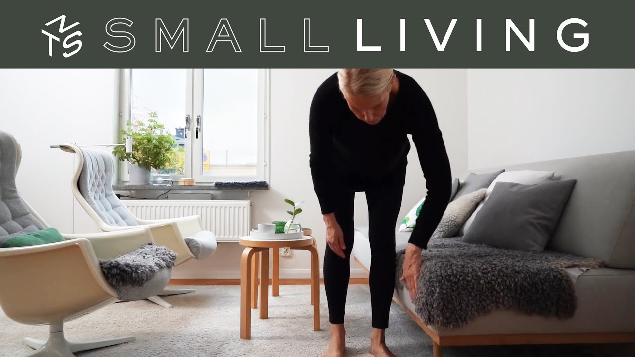 Simplify your wardrobe, revive your indoor plants, style with flowers - SMALL LIVING ep.5