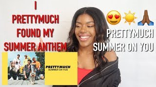 Summer On You Official Audio By Prettymuch Reaction