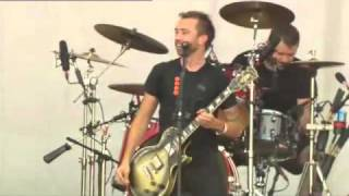 Rise Against Blood Red White and Blue live Werchter 2010