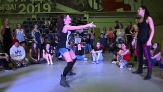 Ghetto Blaster 2013 | dancehall battle final | Belladonna vs Anastacia IceCreamCrew Thumbnail
