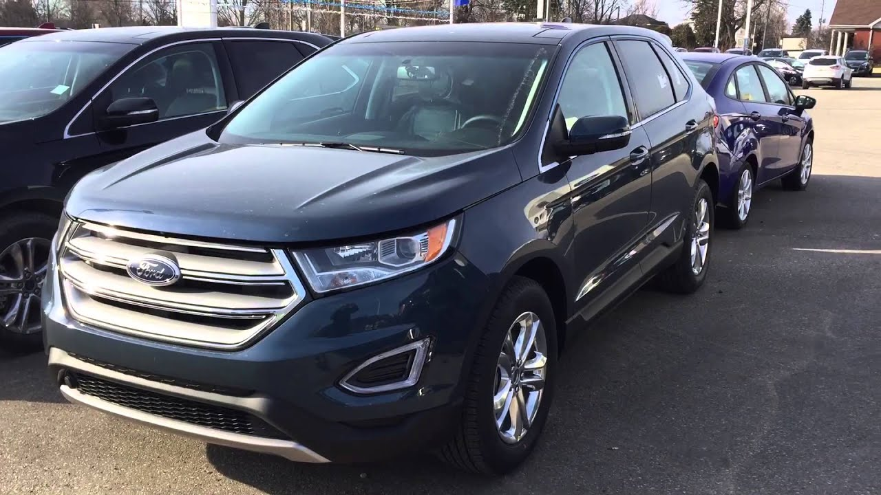 Ford Edge Too Good To Be Blue