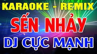 Karaoke Remix Cục Mạnh | Liên khúc Trữ Tình Bolero Remix | Nhạc Sống karaoke Nhạc Vàng | Trọng Hiếu