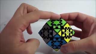 Gear Rhombic dodecahedron ou Gear Change Tutorial (PT-BR)   parte 2