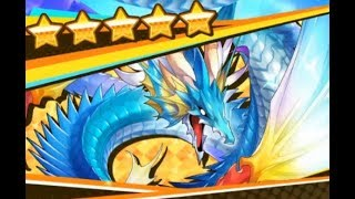 Dragalia Lost - 17000 Diamantium vs Leviathan in the Winter Flower Lily Banner