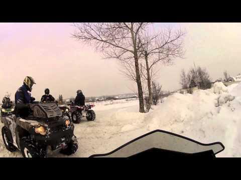Snowmobile vs ATV