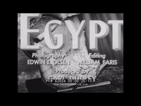 1940s TOUR OF EGYPT   CAIRO    GREAT PYRAMID AT GIZA   KARNAK & KING TUT'S TOMB  62654