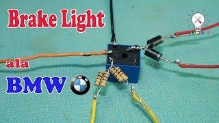 Cara modif lampu Rem agar terlihat canggih seperti Mobil BMW. nah p...