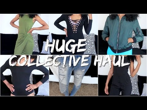 Collective TRY-ON Haul Fashion Nova,  Zaful, SheIn, Romwe