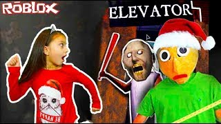Crazy new ELEVATOR Roblox with BALDI new year Granny BALDI robloks videos for kids Valerishka
