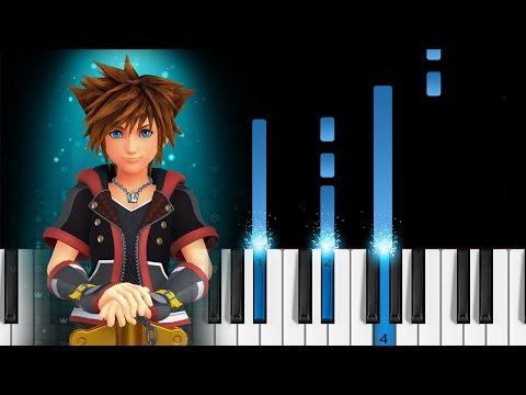 Kingdom Hearts - Dearly Beloved - Piano Tutorial