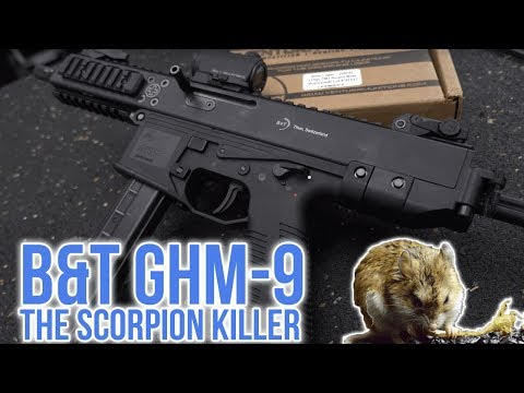 B&T GHM-9 Review: Is This The Best Pistol Caliber Carbine To Date? (4K UHD)