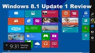 Windows 8.1 Review - Tips & Tricks - Beginners Tutorial Video Guide
