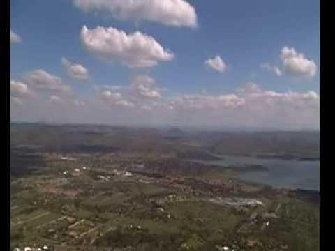 Johannesburg from the Top of Hartebeesportdam