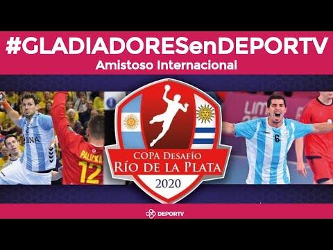 #GLADIADORESenDEPORTV: Argentina vs Uruguay - Amistoso Internacional previo PreMundial Maringa 2020