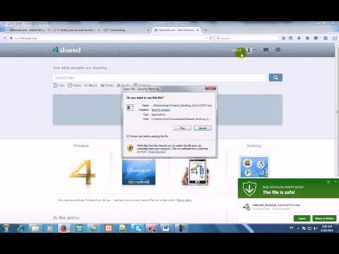 How To Download From 4shared Com