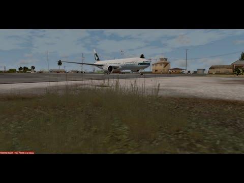 |Prepar3DV3ᴴᴰ| Boeing 777-200 PMDG| Honiara ✈ Marshall Islands |2#