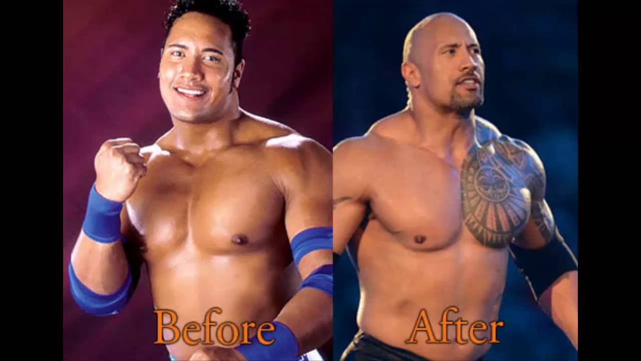 The gallery for --> Dwayne Johnson Before And After Steroids