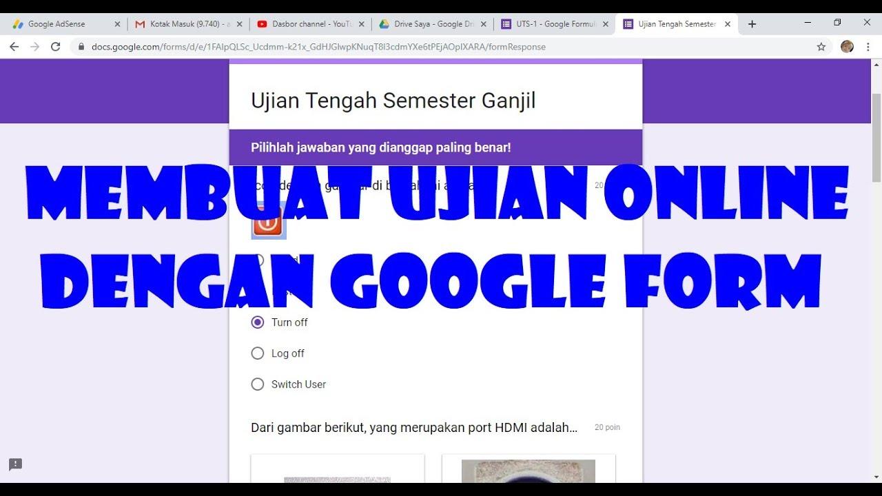 bagaimana cara membuat format google form